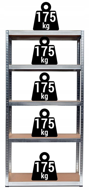 - REGAL-MAGAZYNOWY-2w1-METALOWY-180x90x40cm-875-kg-Material-wykonania-regalu-metal